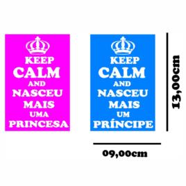 Keelp Calm um princípe