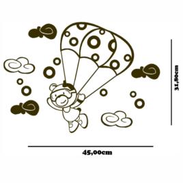 Urso de paraquedas