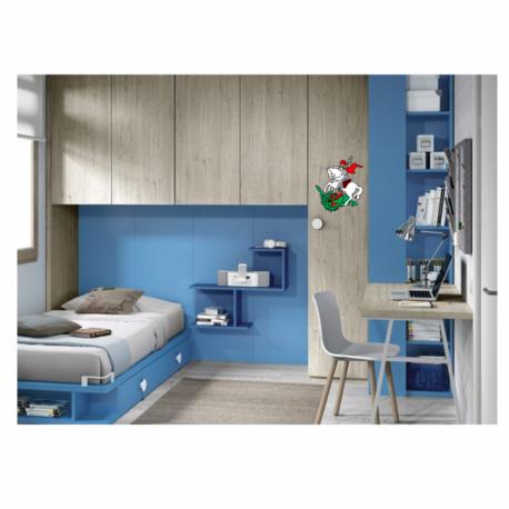 adesivo são jorge colorido de paredes-quarto-home office-pura arte adesivos