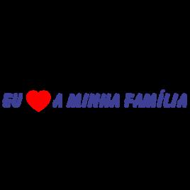 Eu amo a minha família