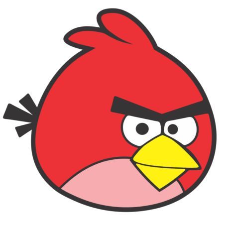 Angry birds vermelho