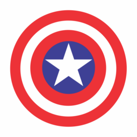 Capitão América – Escudo Grande
