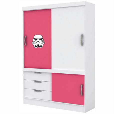 adesivo stormtroopers-guerra nas estrelas-star wars-para móveis-porta-janela-geek-nerd-gamer-pura arte adesivos