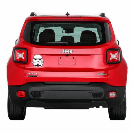 adesivo stormtroopers-guerra nas estrelas-star wars-sticker de carro-hilux-jeep-geek-nerd-gamer-pura arte adesivos