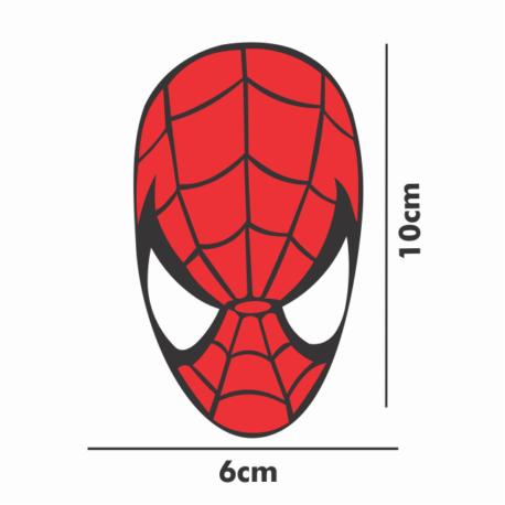 adesivo homem aranha-10×6-sticker decorativo-spiderman-geek-nerd-gamer-marvel-pura arte adesivos