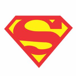 Super Homem – Adesivo Decorativo