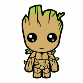 Adesivo Baby Groot – Grande