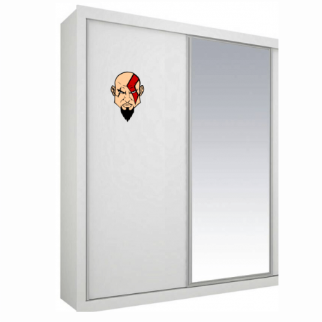 kratos adesivo personalizado moveis