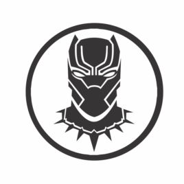 Pantera Negra – Wakanda – Redondo