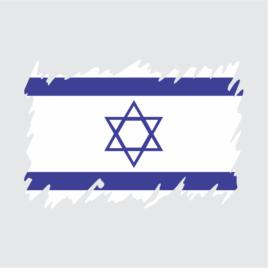 Bandeira de Israel – Estilizada