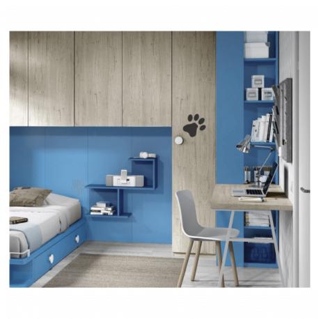 patinha preta-adesivo de paredes-quarto-home office-gato-dog-animais-pura arte adesivos