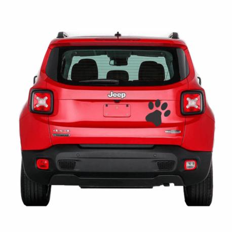 patinha preta-adesivo para carro-hilux-jeep-ranger-gato-dog-animais-pura arte adesivos