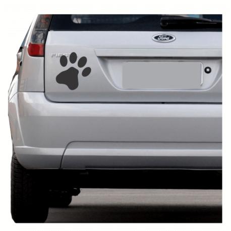 patinha preta-sticker de carro-caminhao-picape-gato-dog-animais-pura arte adesivos