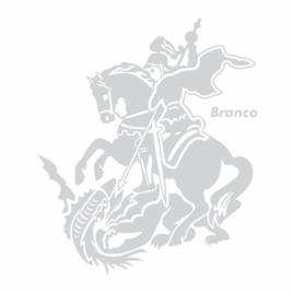 Adesivo São Jorge Branco – Grande
