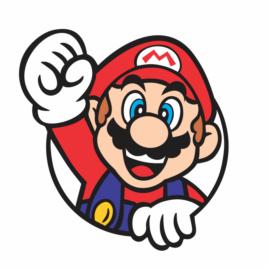 Super Mario saindo do Buraco
