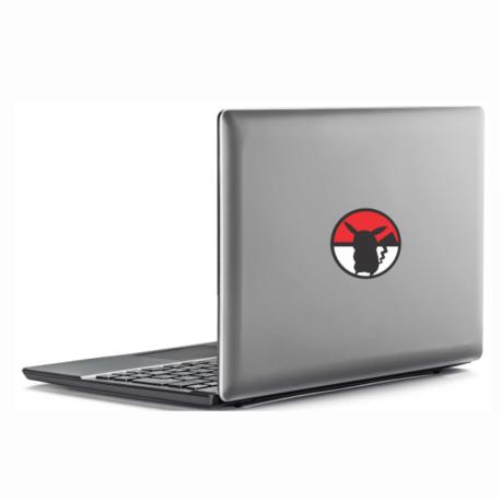adesivo pokebola e pikachu-para notebook-macbook-geek-nerd-gamer-pura arte adesivos