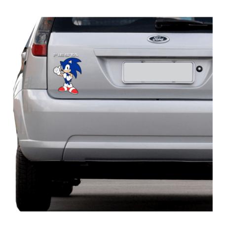 adesivo sonic the Hedgehog-sticker de carro-land-ranger-kia-gamer-geek-pura arte adesivos