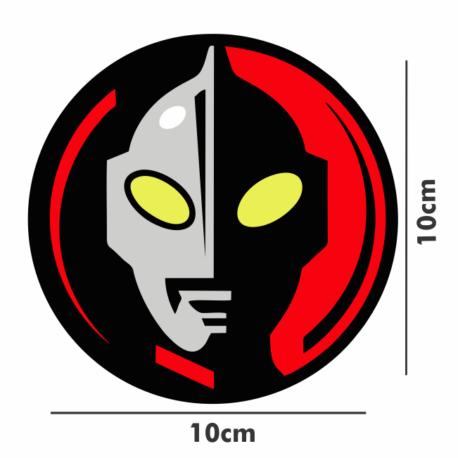 adesivo ultraman-10×10-sticker recorte eletrônico-anos8090-geek-nerd-gamer-pura arte adesivos