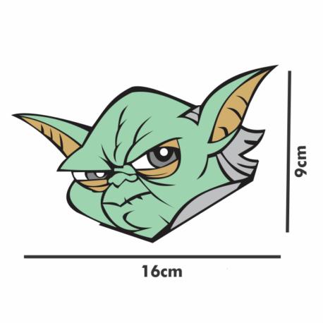 adesivo metre yoda-16×9-guerra nas estrelas-star wars-sticker decorativos-geek-nerd-gamer-pura arte adesivos