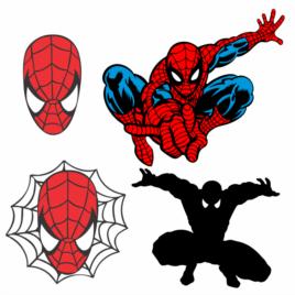 Homem Aranha – Kit Spider Man