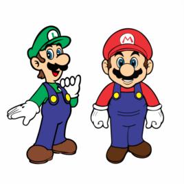 Super Mario Bros e Luigi – Amigos
