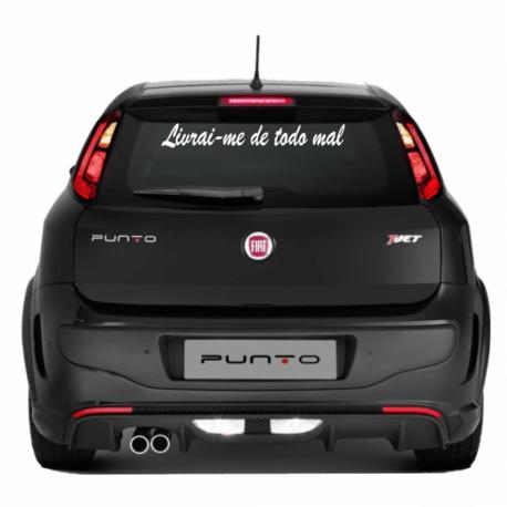 adesivo livrai me de todo mal-mensagem-gg-sticker de carro-suzuki-volvo-religioso-maria-oração-pura arte adesivos