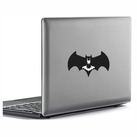 adesivo batman homem morcego-para notebook-macbook-geek-nerd-marvel-heróis-dc-pura arte adesivos