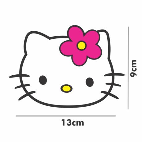 adesivo hello kitty perfil-13×9-balé-ballet-de menina-girl-kid-geek-nerd-gamer-pura arte adesivos