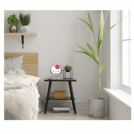 adesivo hello kitty perfil-decoração de quarto-casa-balé-ballet-girl-kid-de menina-nerd-geek-pura arte adesivos