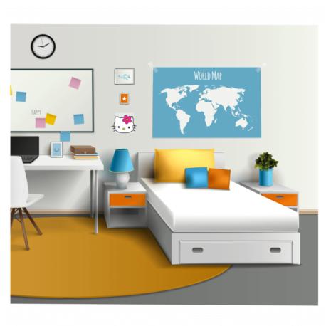 adesivo hello kitty perfil-para quarto geek-home office-balé-ballet-girl-kid-de menina-pura arte adesivos